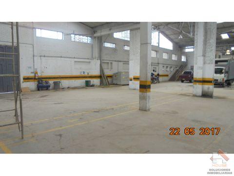 bodega en venta sector puente aranda zona industrial