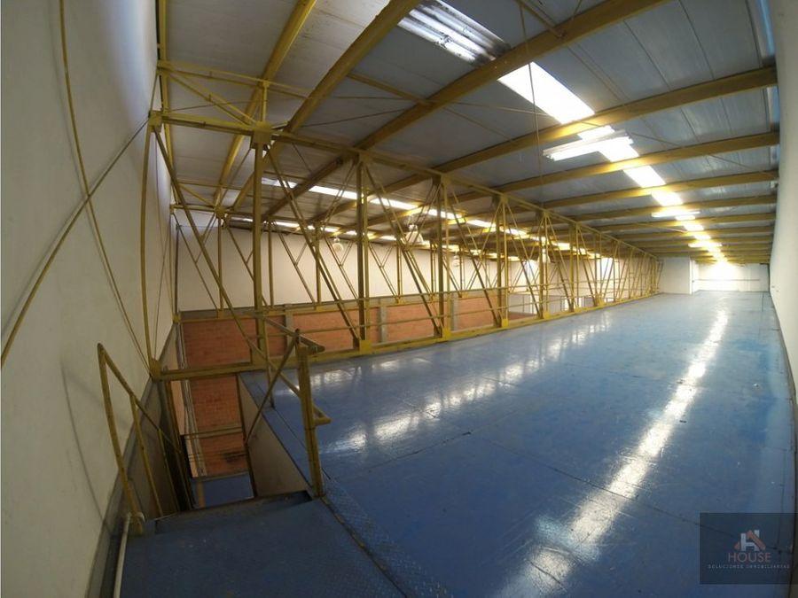 bodega en arriendo cota siberia parque industrial