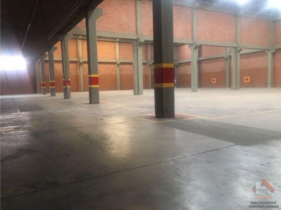 bodega en arriendo montevideo zona industrial