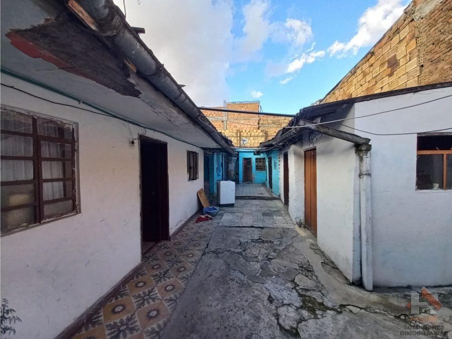 casa lote en venta sector sur barrio fatima bogota