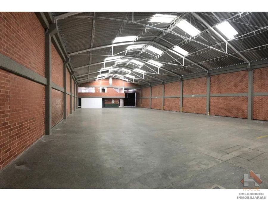 bodega en arriendo sector normandia parque industrial