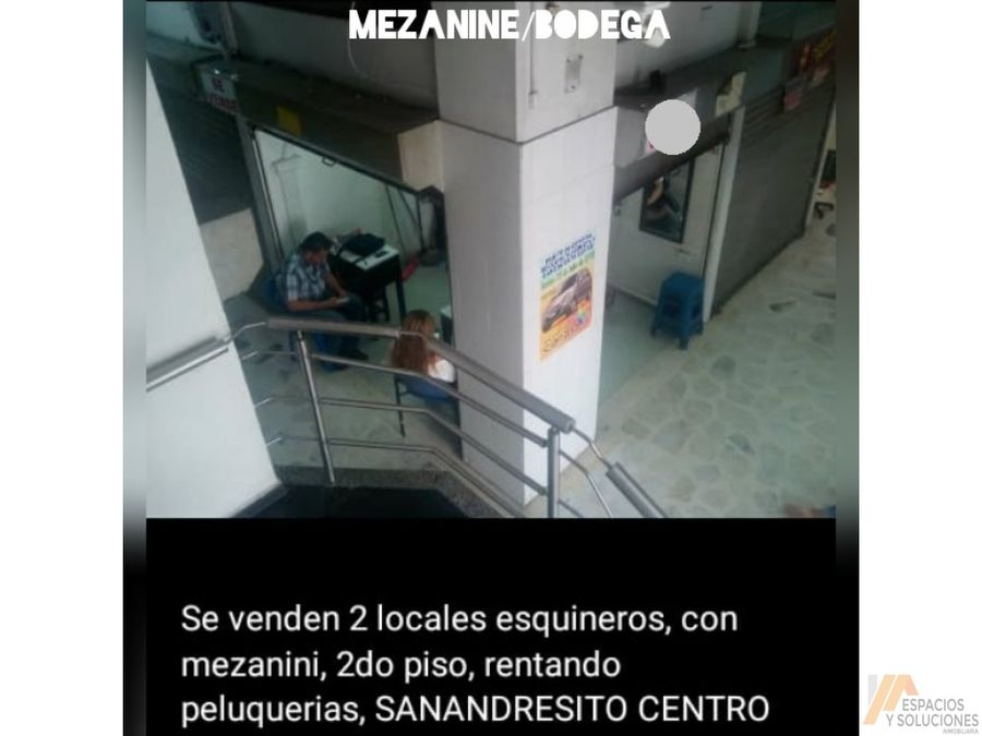 venta de locales en sanandresito centro bucaramanga