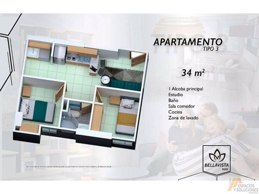 venta apartamentos planos vis giron bellavista