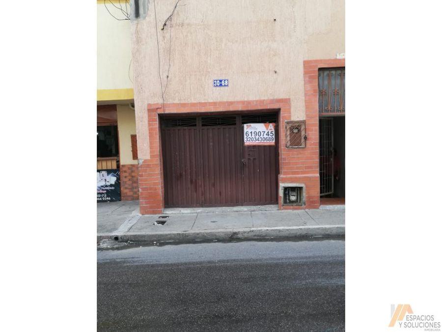 arriendo local o bodega comercial centro bucaramanga