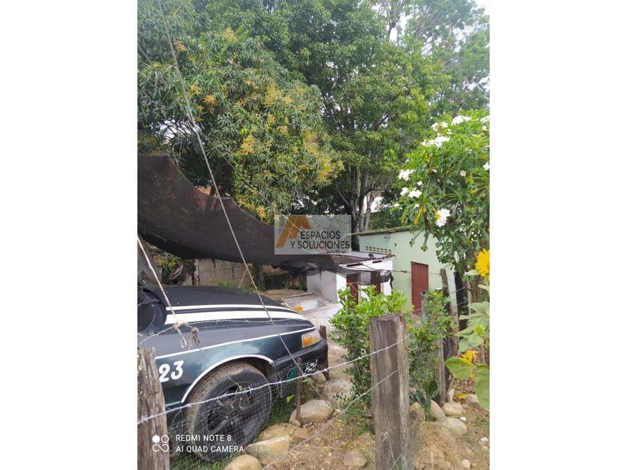 venta de casa lote en el cafe madrid bucaramanga