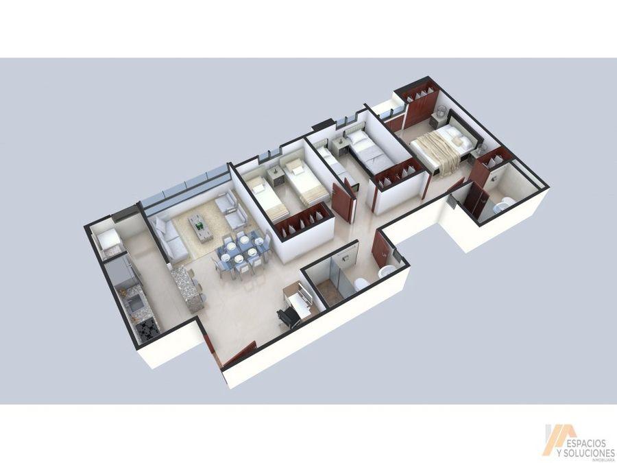 venta apartamentos sobre planos b comuneros