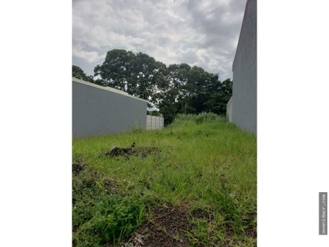 vendo terreno en heredia 36 040 0057