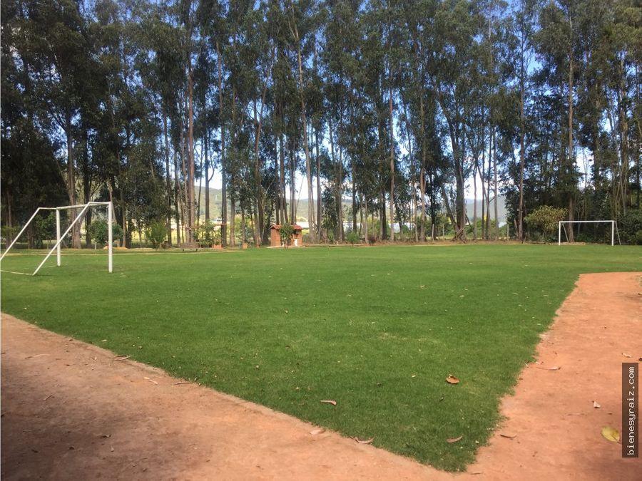 extensas areas verdes en conjunto club house