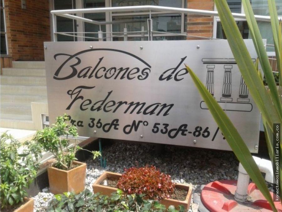 apartamento en venta nicolas de federman