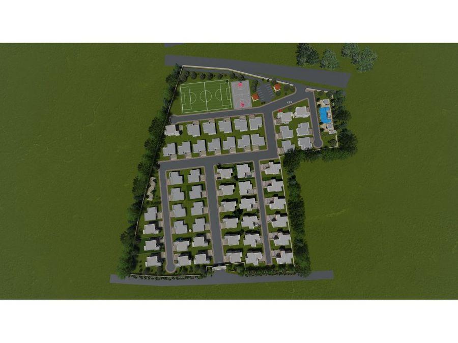 villas tipo d los pinos village