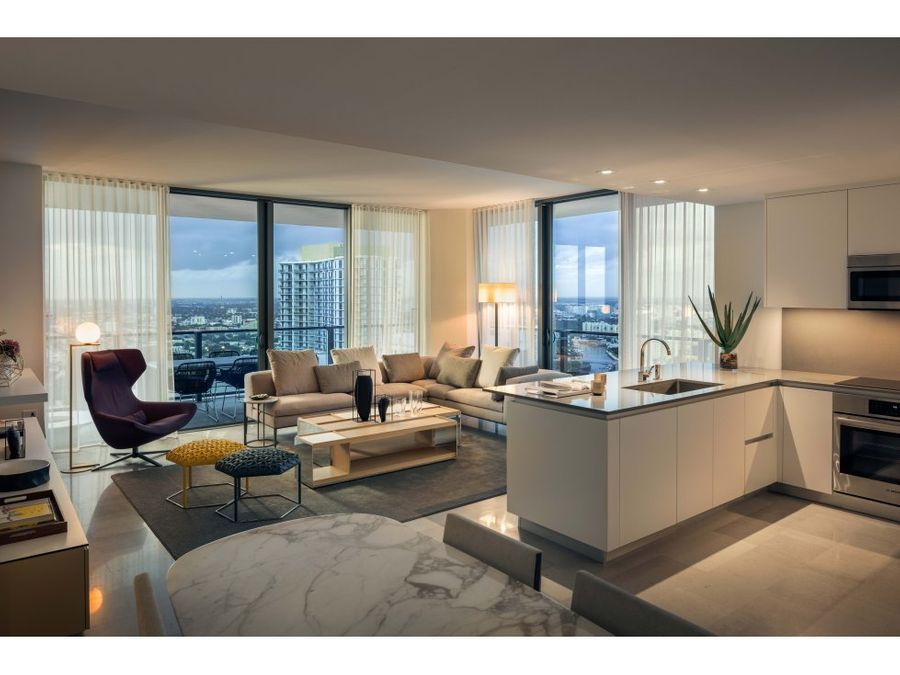 rise residence in the brickell city en miami