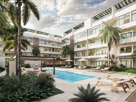 rentable proyecto de apartamentos muy cerca de playa bavaro