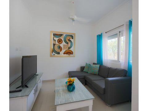 hermoso apartamento amueblado en cocotal bavaro punta cana