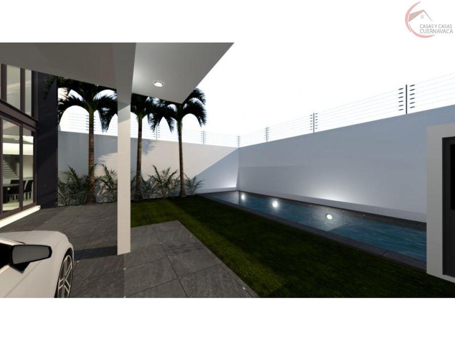 casa en pre venta en jiutepec con alberca las fuentes