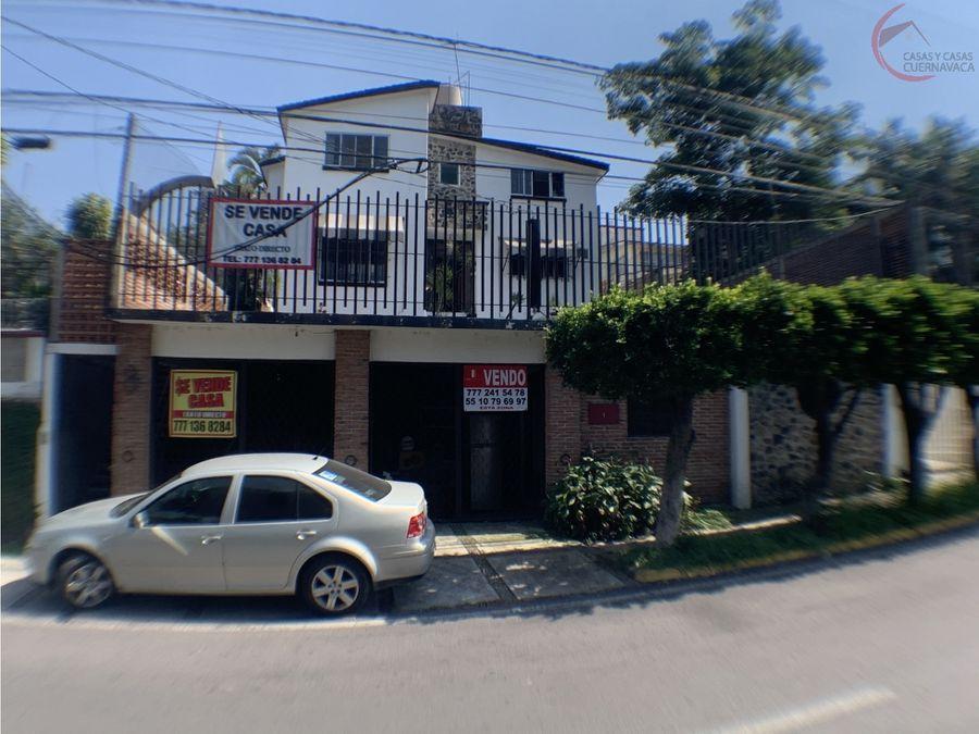 casa en venta en cuernavaca burgos