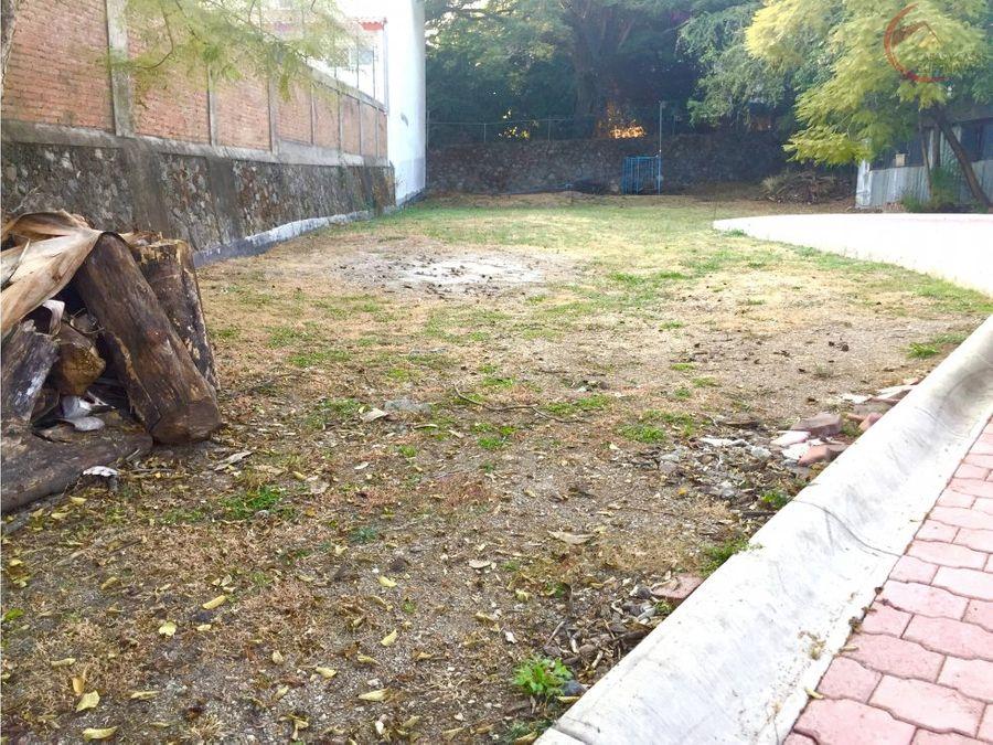 terreno en venta en chapultepec privada
