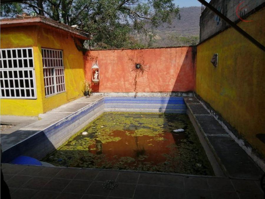 casa en venta como terreno en san gaspar