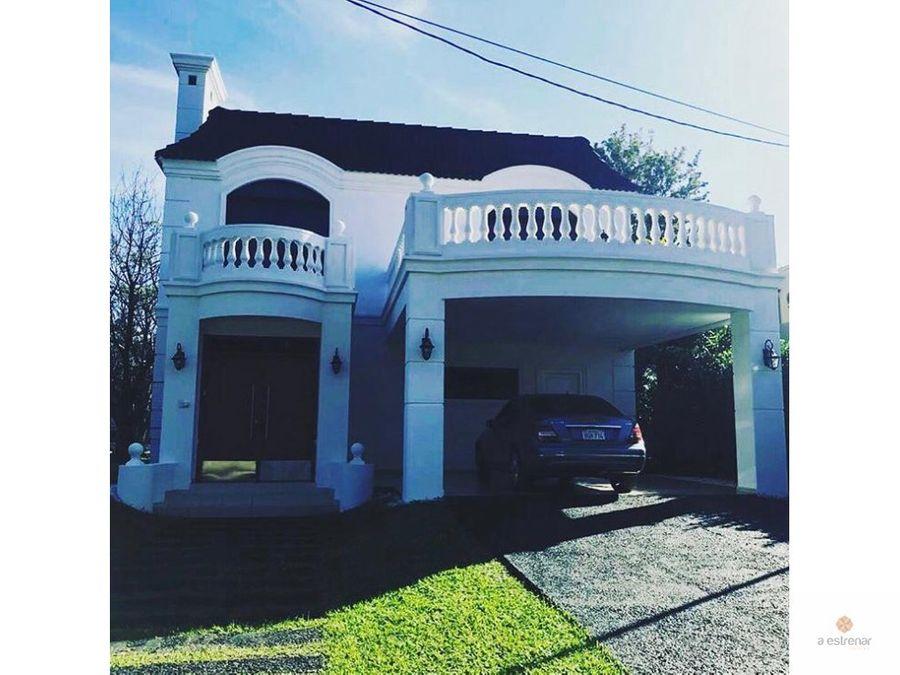casa en venta en barrio cerrado