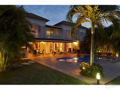 townhouse con piscina en costa blanca golf villas