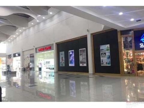 venta o alquiler local santiago mall 166 m2
