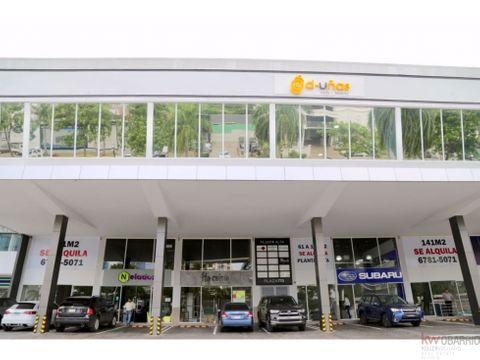 alquiler plaza 770 local 129 m2 costa del este jr