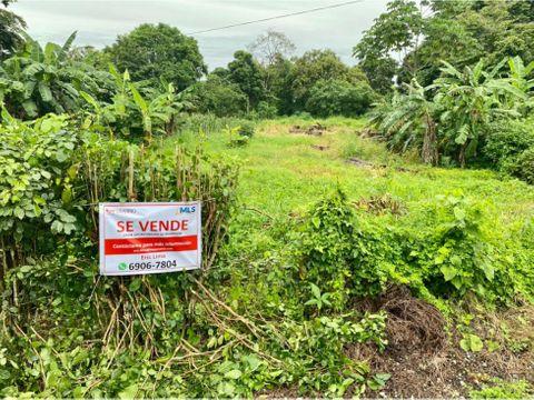 venta de terreno frente a via principal en los higos de pedasi