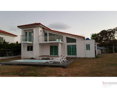 casa de playa en malibu lakes con piscina mm