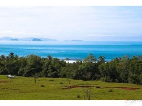 27 hectareas propiedad con vista al mar