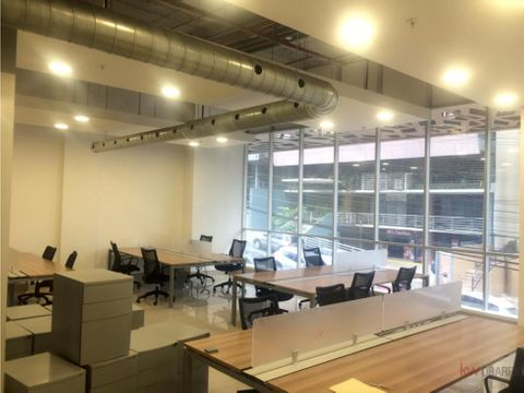 alquiler de oficina en obarrio ph plaza habitat fg