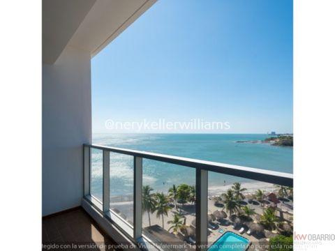 venta apartamento frente de playa