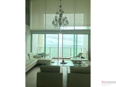 penthouse con vista al mar en alquiler en terramar