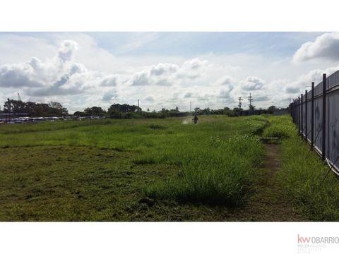 alquiler de lotes de terreno desde 1000 m2 en tocumen ja
