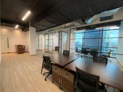 se alquila oficinas amobladas en calle 50 obarrio