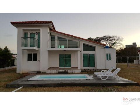 se alquila casa de playa en malibu lakes nueva gorgona con piscina mmm