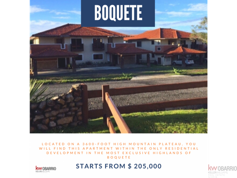 exclusive residential community in boquete