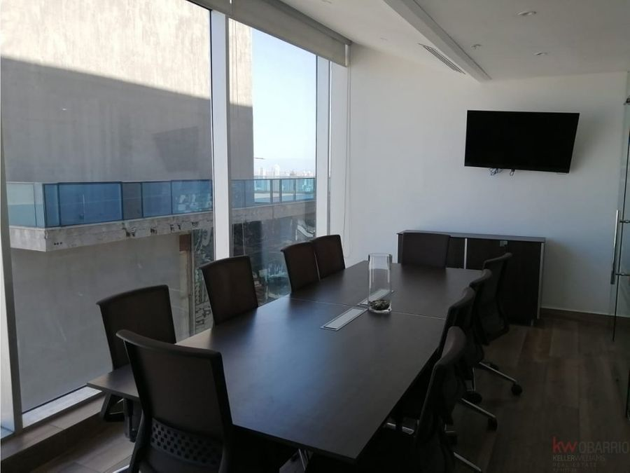 alquiler oficina amoblada en obarrio 201 m2 js