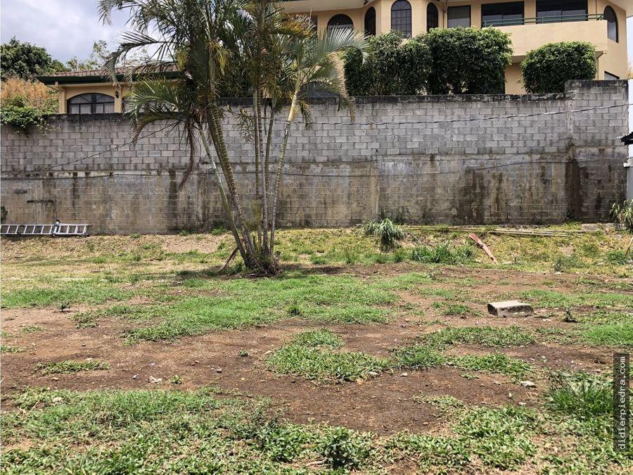 terreno listo para construir escazu guachipelin
