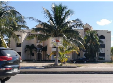 departamento en villas flamingo condominio progreso yucatan