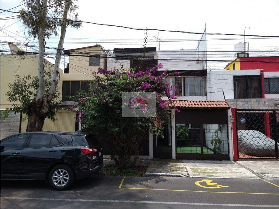 se vende hermosa casa col portales sur benito juarez