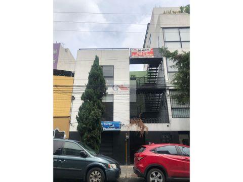 se renta depto tipo loft en calle frontera roma norte cuauhtemoc