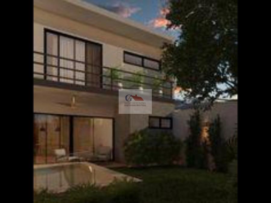 se vende casa en livian modern house temozon norte merida yucatan
