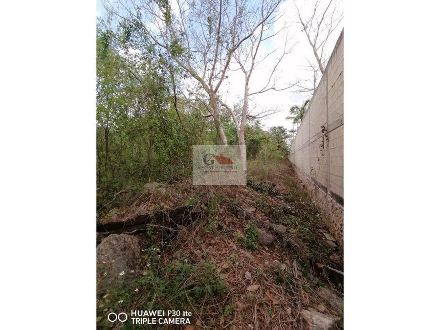 se vende terreno en conkal yaxkukul merida yucatan