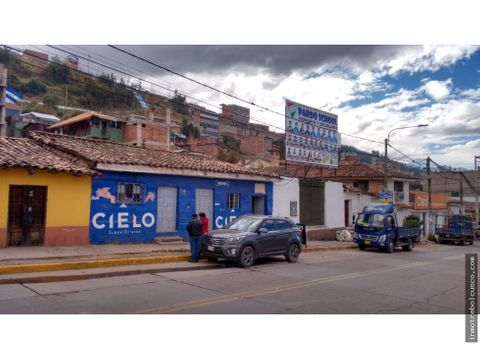 vendo lote de 300 m2 frente al real plaza cusco