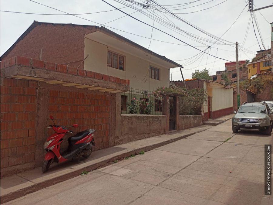 vendo casa agua buena 200m santiago cusco peru