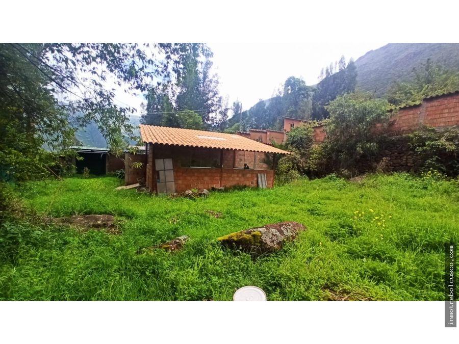vendo lote campestre 2024 mt valle sagrado calca cusco peru
