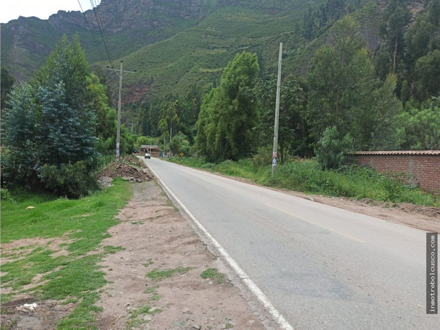 vendo terreno 7800 m2 valle sagrado lamay cusco peru