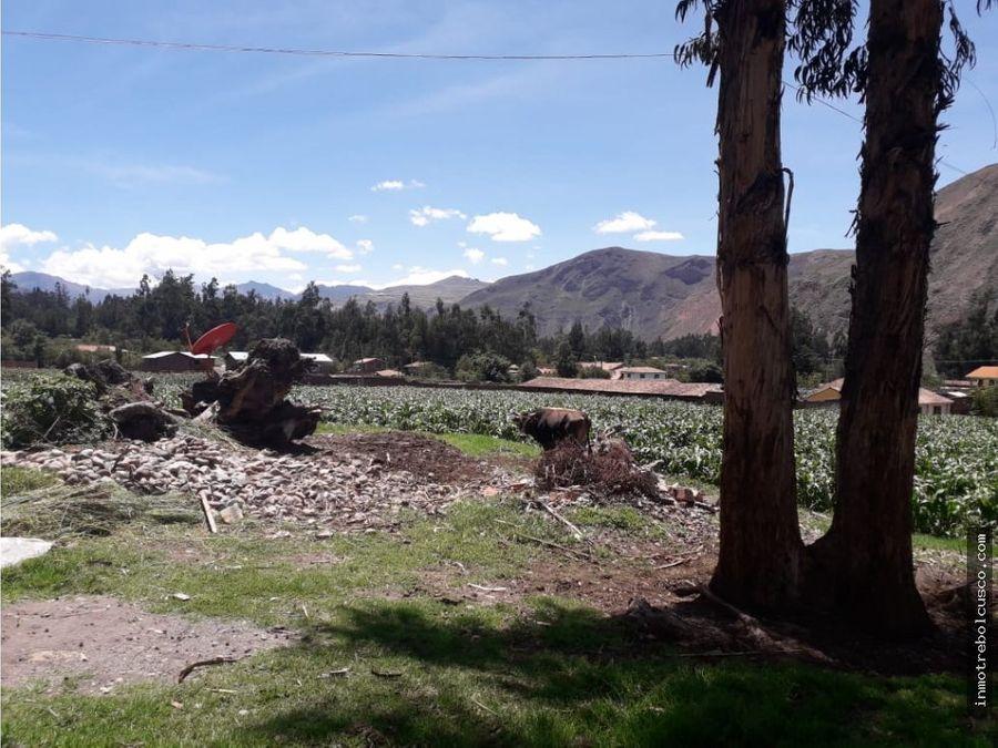 terreno en venta 1600 m urubamba cusco peru