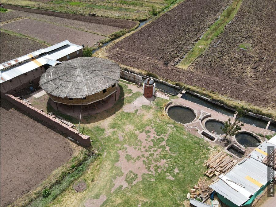 vendo terreno 4543 m2 lucre cusco peru