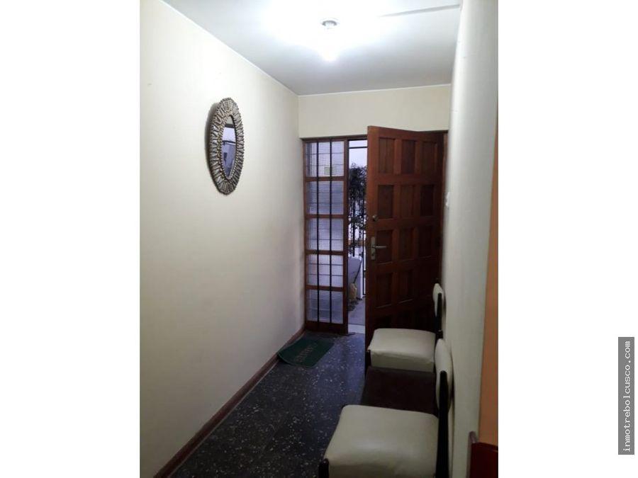 alquilo 1mer piso urb santa monica wanchaq cusco