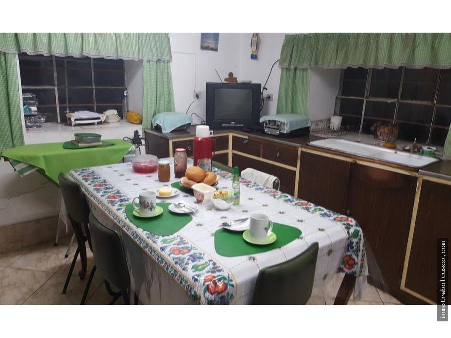 vendo lote con casa 611 m2 av infancia wanchaq cusco peru